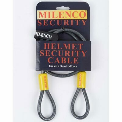 Milenco Helmet Security Cable Works In Conjunction With U Locks / Padlocks