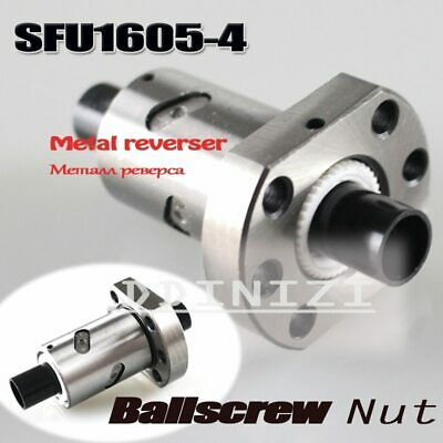 1pcs NEW SFU1605 ballscrew nut 16 mm ball screw single nut match use 1605-4 nut