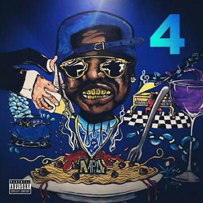 Peewee Longway The Blue M&M 4 (Mixtape) Official PROMO CD Rap Trap