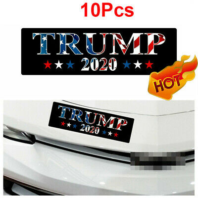 Pack of 10 Donald Trump 2020 Bumper Stickers 2020 Keep America Great President