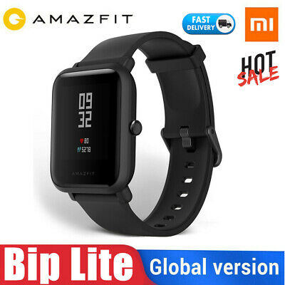 Orginal Xiaomi AMAZFIT Bip Lite Waterproof Touch Screen Heart Rate Smart Watch