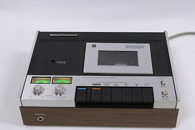 National Panasonic RS-260US Stereo Audio Cassette/Tape Recorder Deck Component