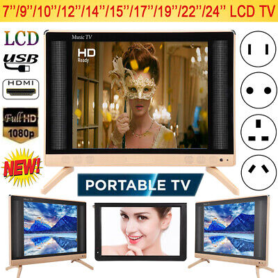 19/22/24inch LED Smart Digital LCD TV 16:9 HDMI USB VGA AV 1080P HD Television