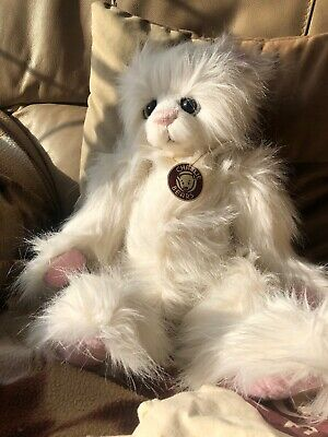 Charlie Bear Cat Kitten Princess QVC Exclusive By Kelsey Cunningham