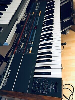 Vintage Roland Juno-106 Keyboard Synthesizer