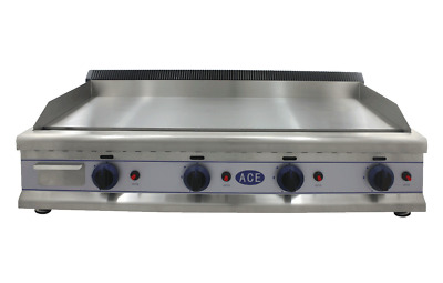 ACE Griddle Natural Gas 110cm Stainless Steel - EN114