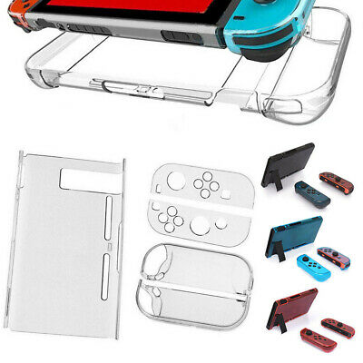 Clear Protective Dockable Crystal Case Cover Scratch Guard For Nintendo Switch