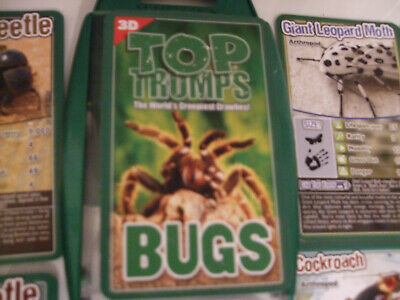 Top Trumps Educational Fun Card Game - BUGS