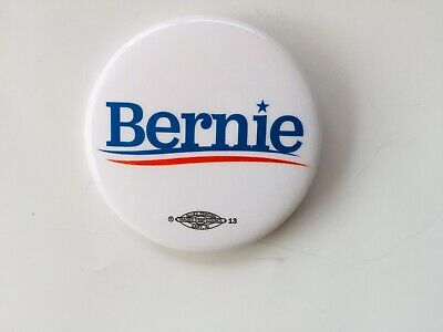 "Bernie Sanders 2020 Set Of 10-2-1/4"" Buttons Plus A Magnetic Bottle Opener"