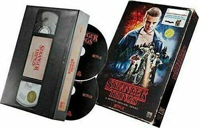 STRANGER THINGS SEASON 1 BLU RAY DVD POSTER TARGET EXCLUSIVE VCR Case