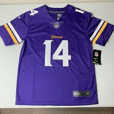 sale retailer 5fc26 a27d2 BOYS YOUTH NIKE On Field Minnesota Vikings Stefon Diggs NFL ...