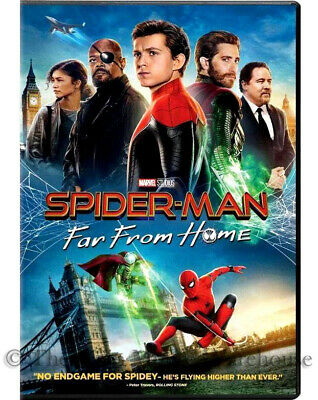 Authentic New Spider-Man Far From Home DVD & Digital Copy Code Movie Pre-Order
