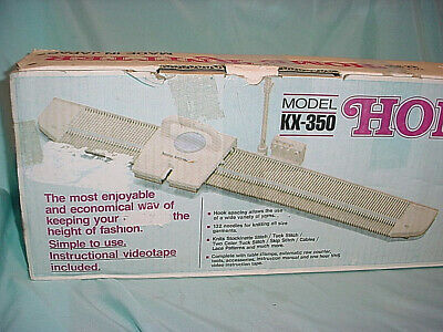 BROTHER HOME KNITTER KX-350 KNITTING MACHINE Fabulous 132 Needles