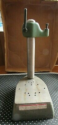 """Federal Model 35B-30 ? 12""""H Dial Indicator COMPARATOR inspection machinist stand"""