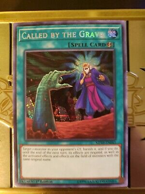 Called by the Grave 1st Edition Prismatic Secret Rare MP19-EN043 Yu-Gi-Oh!