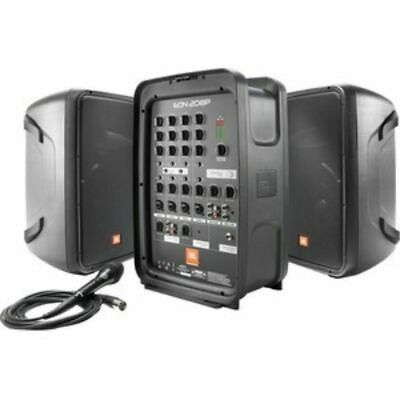"""Harman 8"""" Packaged PA System With 8-channel Integrated Mixer EON208P"""