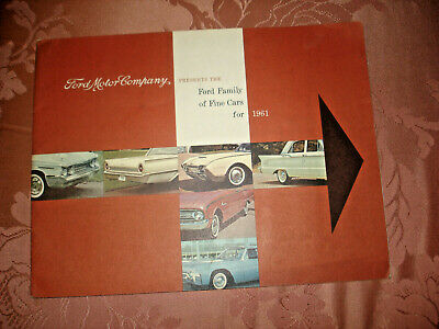 1973 Ford Thunderbird Deluxe 20-Page Dealer Sales Brochure Mint!