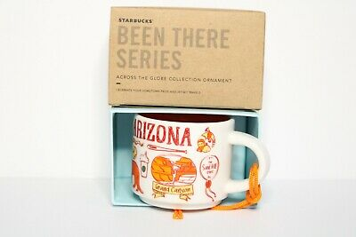 NEW  Starbucks - Been There Series - Arizona - Ornament Mug - 2 oz