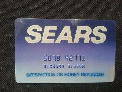 Usa Canada Sears Card Credit Card Charge Card