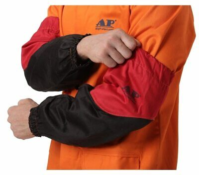 Welder Arm Protective Sleeves Flame Resistant Cotton Sleeves for Arc Welding Pla