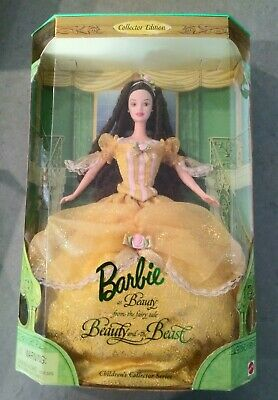 Beauty And The Beast Barbie Collectors Doll