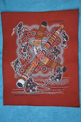 Aboriginal DOT ART CORROBOREE by Danny Eastwood -Australia Screen Print Wall Art