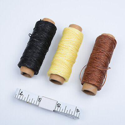 Groover Craft Tool Leather Needles Awl Thimble Set Beveler Hand Punch DIY