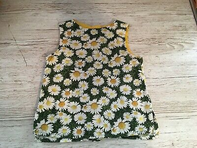 Next floral  girls 100% cotton smock top age 3  years new