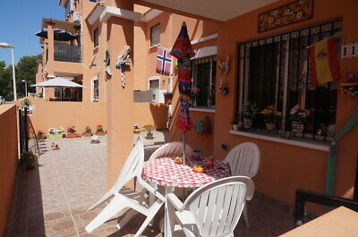2bed furnished apartment, terrace , 2000m from sea, Playa Flamenca, Orihuela.