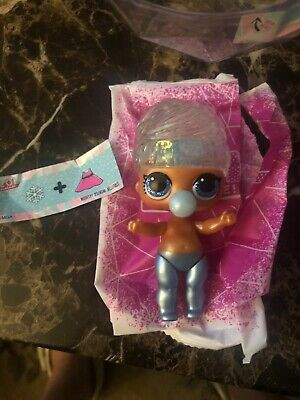 LOL Surprise Doll Glitter Globe Miss Snow! Ships Fast With Globe!