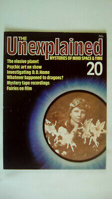 The Unexplained Magazine Issue 20 Orbis 1980