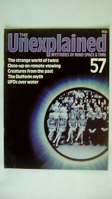 The Unexplained Magazine Issue 57 Orbis 1981