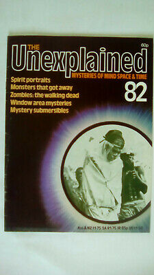 The Unexplained Magazine Issue 82 Orbis 1982
