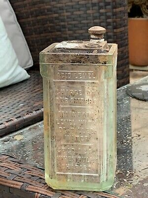 Antique Glass Battery