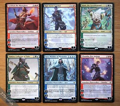 War of the Spark Rare Planeswalker Lot of 6x Different *NM+* (English MTG) Jace