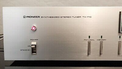 Vintage Pioneer TX-710 Synthesized Stereo Tuner BEAUTIFUL Audio HiFi Rare!
