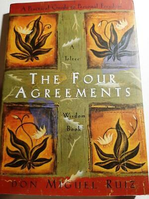 Toltec Wisdom: The Four Agreements : A Practical Guide to Personal Freedom by Ja