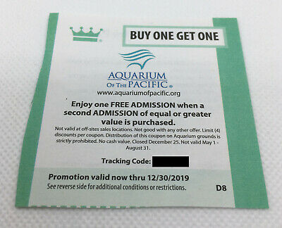 image regarding Aquarium of the Pacific Coupons Printable named Invest in Acquire Kid Discount codes Legitimate in the course of 12/31/19 - $1.54 PicClick