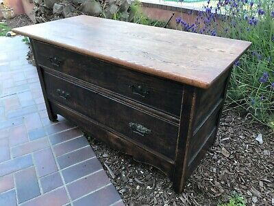 Antique Upcycled Two-Drawer Chest(early 1900's)