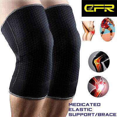 Knee Sleeve Compression Brace Support For Sport Joint Pain Arthritis Protection