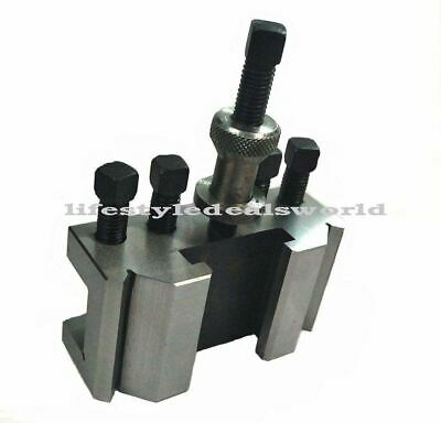 T2 QUICK CHANGE TOOL POST STANDARD TOOL HOLDER CAPACITY 22mm-High Quality