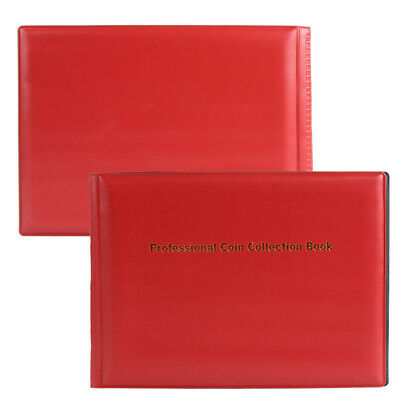 240 A1 Collection Storage Penny Pockets Money Album Book Collecting Coin Holders