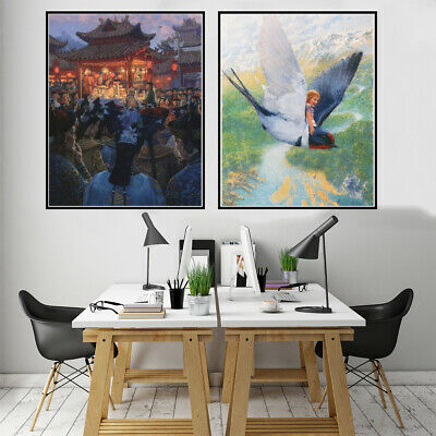 Royal Activities Canvas Poster Picture Living Room Wall Hangings Home Art Decor