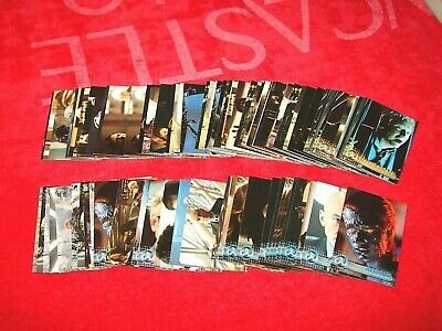 2000 Topps X-Men Movie Trading Cards Lot Of 90 (18-57)