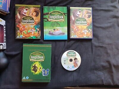THE JUNGLE BOOK 40th Anniversary Edition Disney Collectors DVD Gift Set