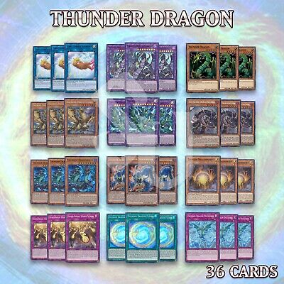 THUNDER DRAGON DECK | MP19 COLOSSUS TITAN DRAGONHAWK DRAGONDARK FUSION YuGiOh