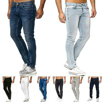 TAZZIO Jeans Slim Fit Herren Jeanshose Stretch Designer Hose Denim