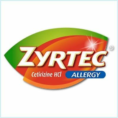 Lot of 5 Coupons $4 off 24 ct. or Larger Zyrtec Products Exp.12/31/2019