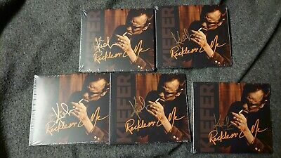 New Kiefer Sutherland Reckless & Me Signed Autographed CD Music Country Rock
