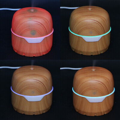 2019 LED Ultraschall Luftbefeuchter 300ml Aroma Diffuser Aromatherapie Duftlampe